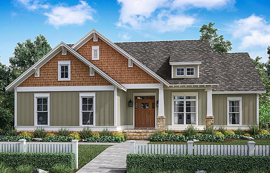 Alexander Craftsman House Plan Showcase