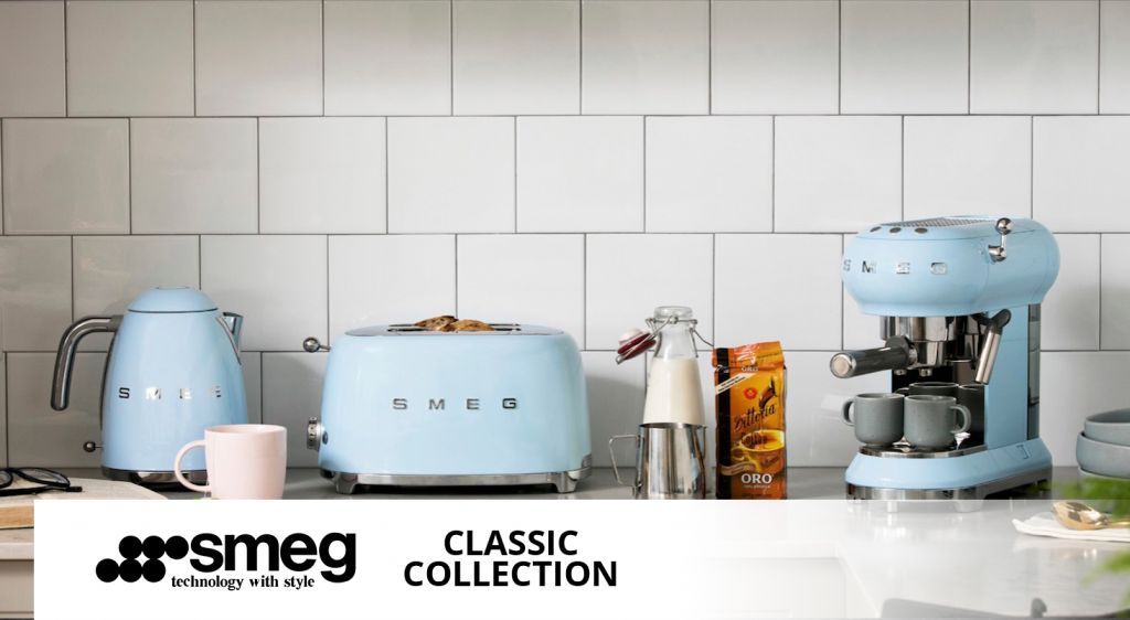 Sustainable appliances from Smeg