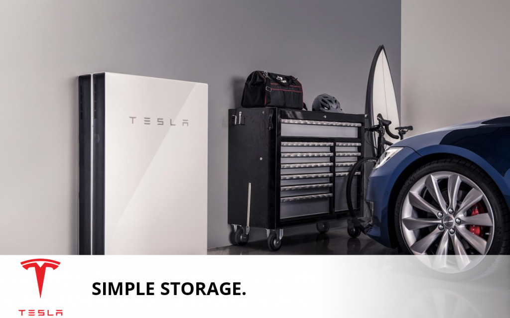 Tesla simple storage solutions