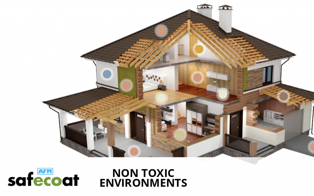 AFM Safecoat non-toxic environments for homes