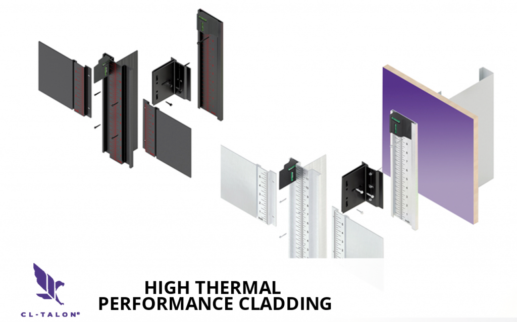 CL-Talon high thermal performance cladding