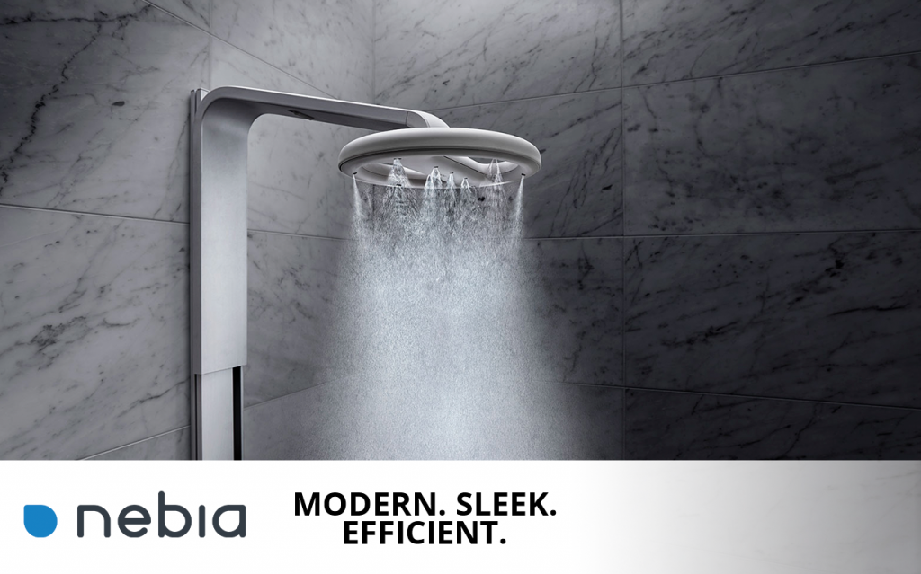 Nebia modern showers and other sustainable businesses like GH Builders